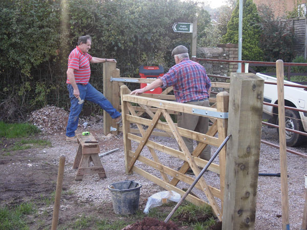 Building the Entrance Gate
